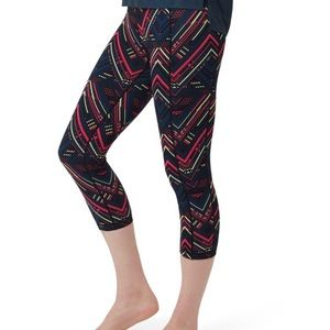 SWEATY BETTY reversible cropped yoga leggings S